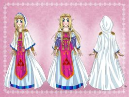 CE: AlttP Zelda redesign by Coco-of-the-Forest