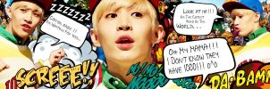 [SJ's Pack] Part 9 8/10 - 1-4-3 Henry Lau by Eriol-Diggory-Art
