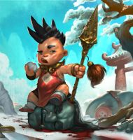 Red boy (Journey to the West) by cloudintrousers