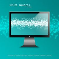 White Squares Wallpaper by pickl3