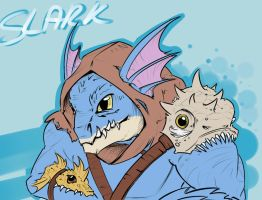Slark by Nahyon