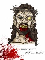 Zombie Jesus by Thenari