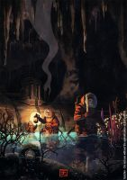 Adventurers of the Abyss by Syrphin
