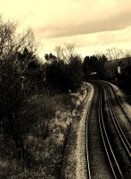 Wrong side of the tracks by izzybizy