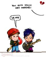 We're Married by 2gama2