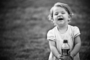 a bottle of water by PortraitOfaLife