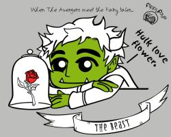 The Avengers Meet Fairy Tales : The Hulk by FlippyFaye