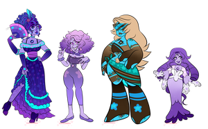 SUOC: RB Sapphire Fusions by sariasong64