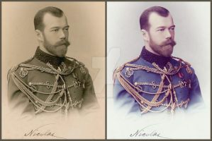 Colorization of Tsar Nicholas II by KraljAleksandar