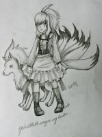 Ninetails : For Moi. by GothicLeafeon