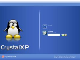 CrystalXP Tux G2 Edition by z-dark