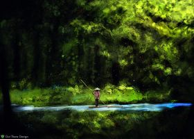 jungle traveler speedpaint by outtheredesign