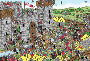 Castle Raid - Where is Wally?! by Shabazik