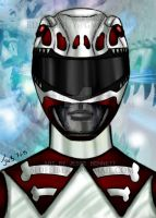 Palio Red Ranger MMPR by blueliberty
