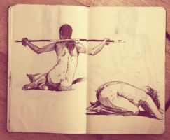 life drawing session 2 by Abuze