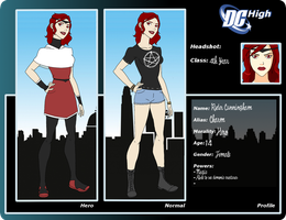 DC High: Charm by MistressTerrible