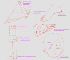 Dove Angel Girl Concept(The Pact) by lunaras13