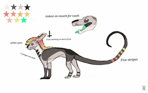 Ray ref sheet by AngryDeer