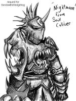 Request-Nightmare Soul Calibur by Comickpro