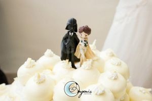 cake topper star wars by AngeniaC
