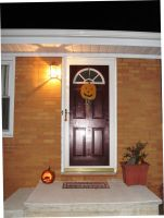 Welcome trick-or-treaters by justamom