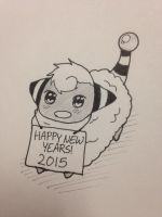 Happy New Years! 2015 by Sparkheart1