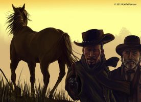 Django, The 'D' is silent by Kalifa