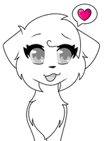Cute Female cat  base c: by xXDarkRainbowKittyXx