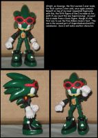 Custom Commission: Scourge the Hedgehog by Wakeangel2001