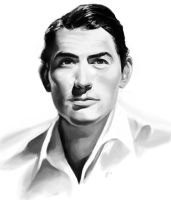 Gregory Peck Photo Study by Desolee