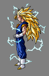 Vegetto Super Saiyan 3 by hsvhrt
