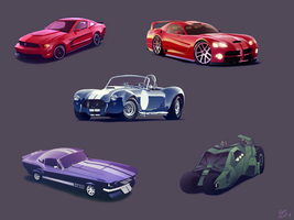 Cars by KurtFloyd