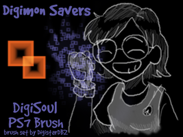DigiSoul Brushes for GIMP by amigobro