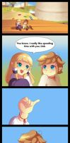 Skyward Sword: I promise by Zelbunnii