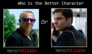 Who is Better Villain Savoy or MCU Zemo by JasonPictures