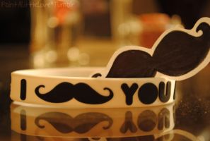 Mustache I by Exhaused