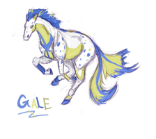 Gale Gallop by SimbaHearted
