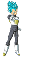Vegeta SSGSS Power 5 by SaoDVD