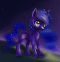 Filly unicorn Luna by PoLLar-nya