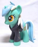 Hoodie Lyra Custom Toy by CadmiumCrab