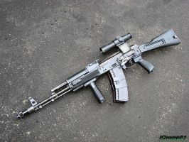 AK-74M assault rifle 2 by Garr1971