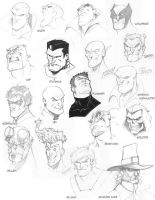 Various faces by jerkmonger