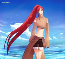 AT _Yukino_ my love for the sea is endless by Yumanae