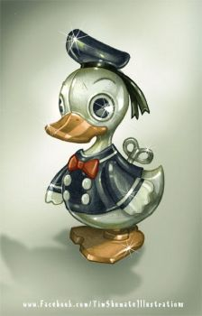 Shiny Toy Duck by telegrafixs
