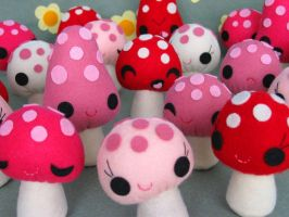 Mushie Mania by FantasticToys