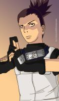 Anbu Shikamaru by shadowdevil502