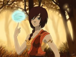 Airbender - Gianne by airgirl39