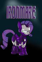 My Little Avengers: Ironmare by Kenichi-Shinigami