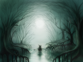 End of the Forest by MariaHobbit