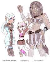DnD: My Current Chars by KPenDragon